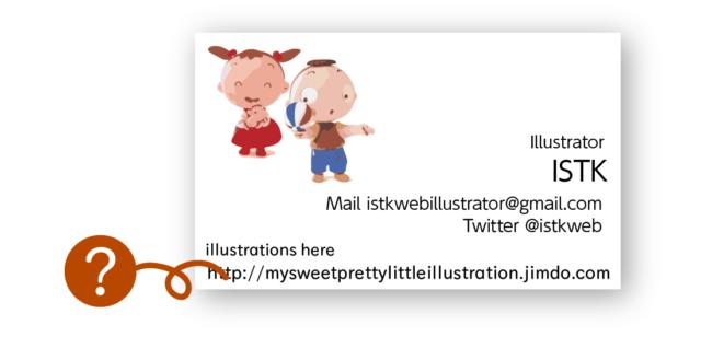 イラストレーターさんのウェブサイトも独自ドメインをつけましょう