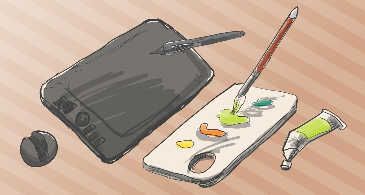 イラストレーターになるには、デジタルイラストでなければいけないか?